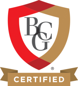 Board Certified Genealogist logo