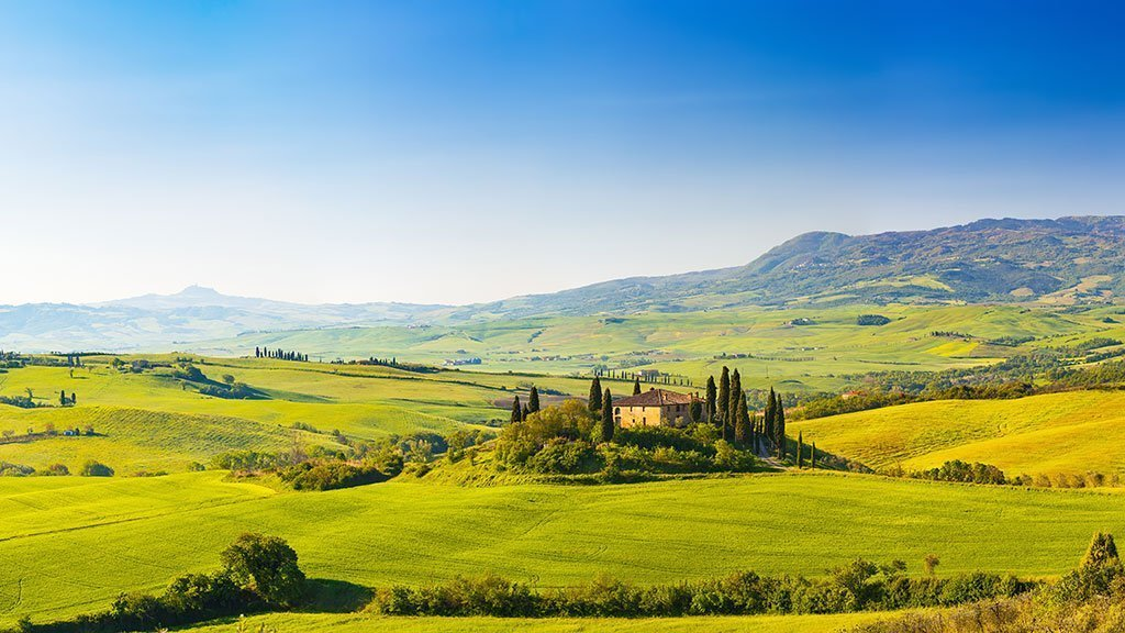 Tuscan countryside Italy